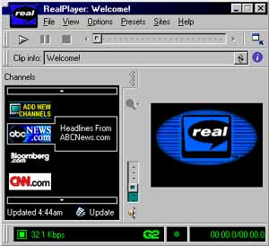 G2 Real Media Player
